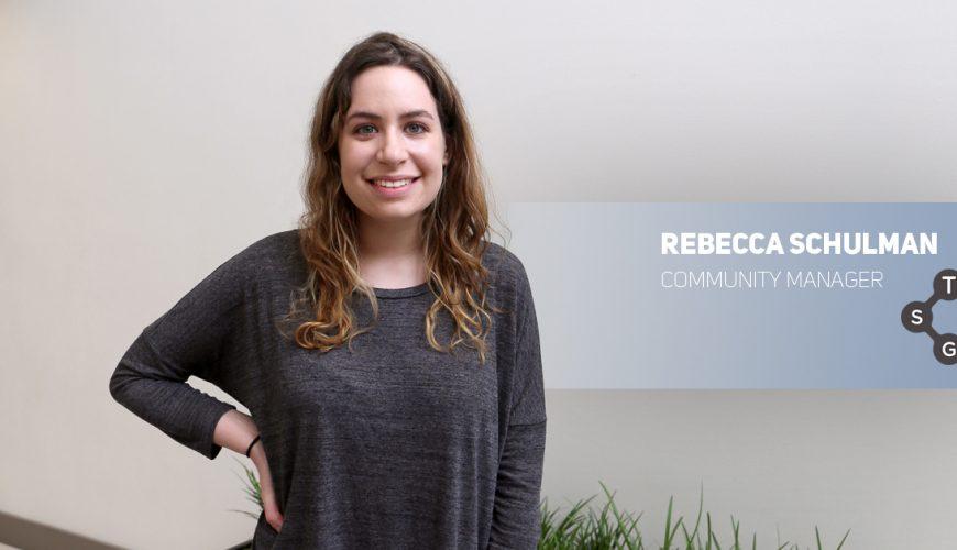 Meet the Team: Rebecca Schulman, Community Manager