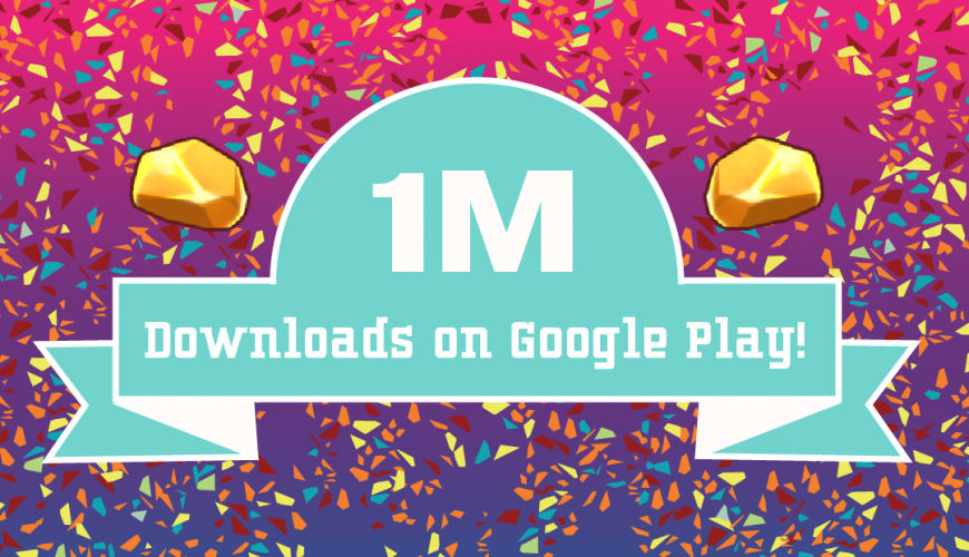 Planet Gold Rush hits 1 million downloads on Google Play