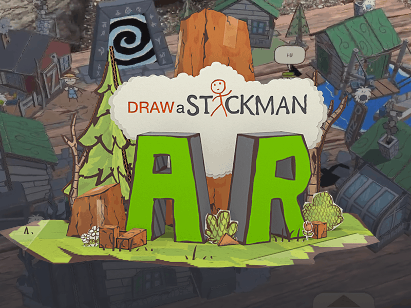 Draw A Stick Man AR Game