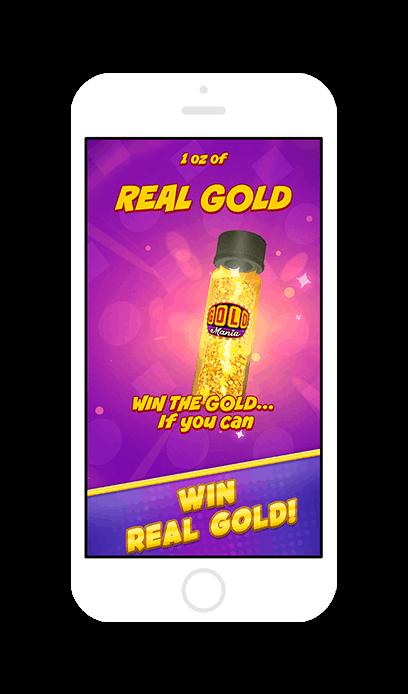 Gold Mania! Win Real Gold Screenshot