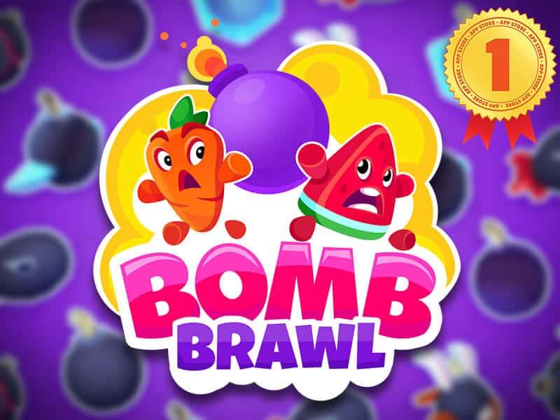 Bomb Brawl - Number 1 in Brazil Appstore